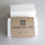 Fresh Snow Coconut Milk Soap Bar
