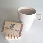 Hot Cocoa Coconut Milk Soap Bar