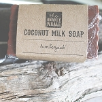 Lumberjack Scented Coconut Milk Soap