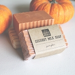Pumpkin Coconut Milk Soap Bar