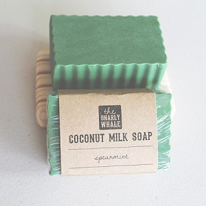 Spearmint Scented Coconut Milk Soap