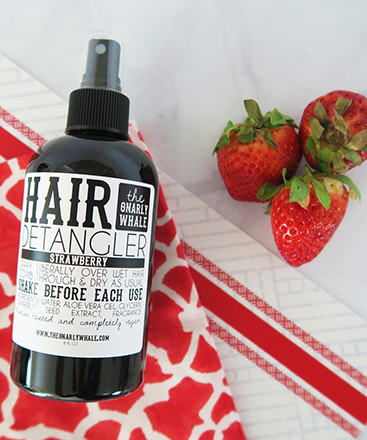 Strawberry Hair Detangler