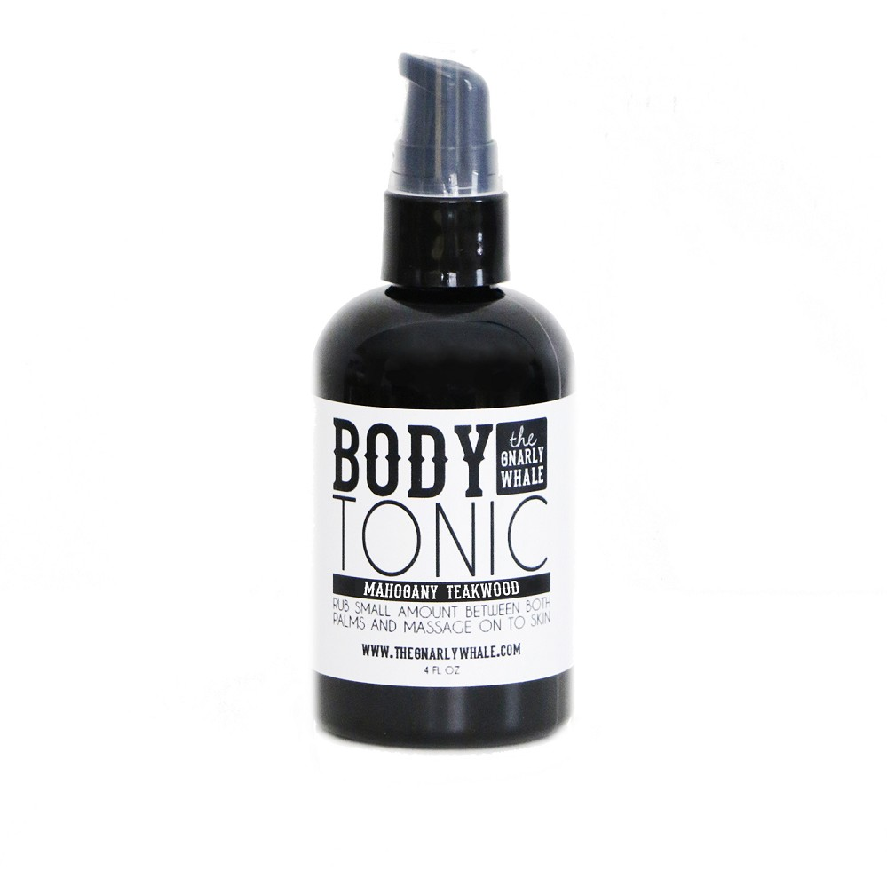 Mahogany Teakwood Body Tonic
