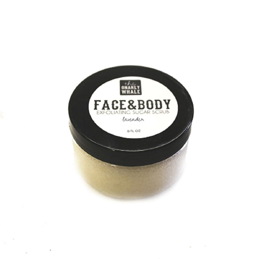 Lavender Face and Body Scrub